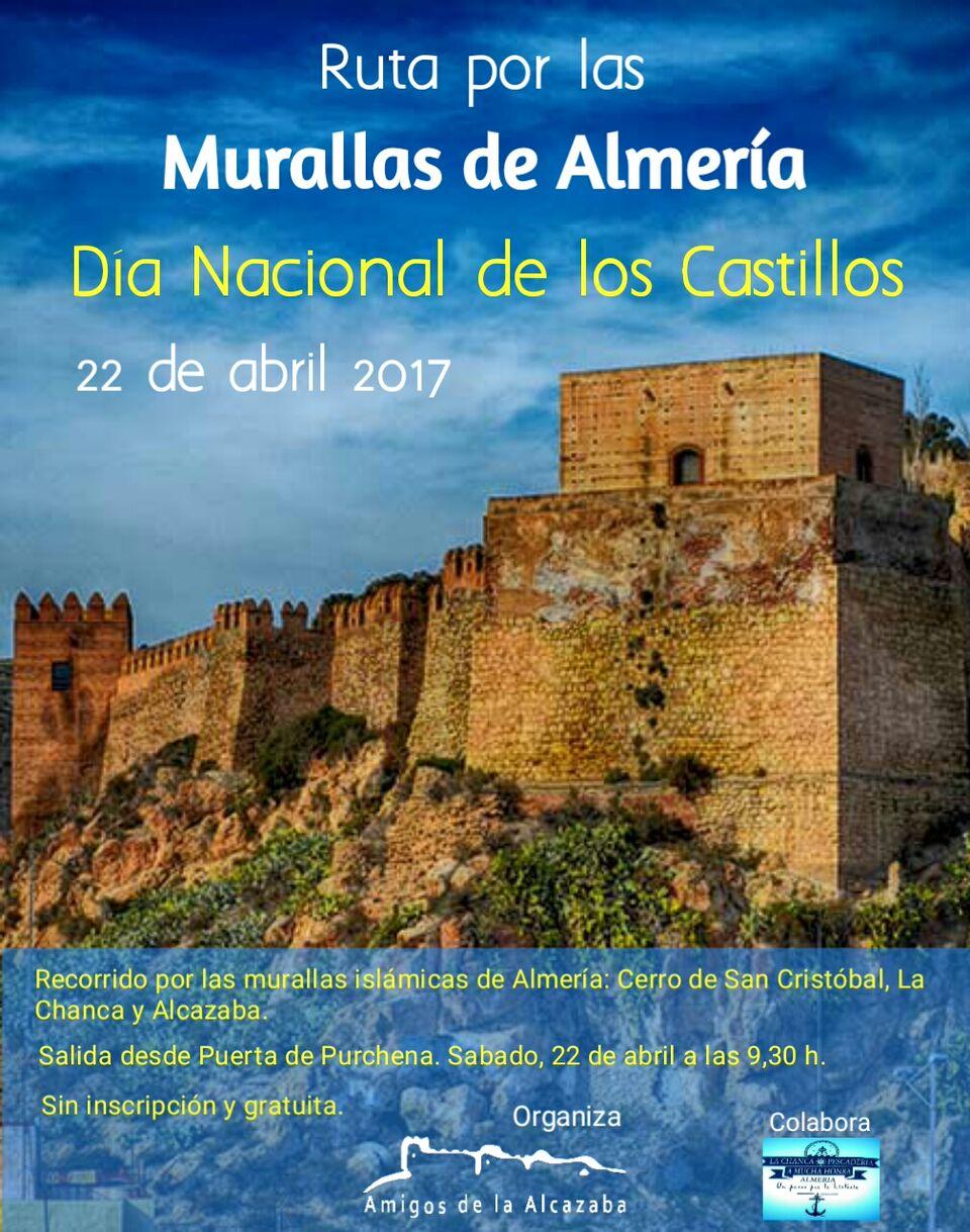 Cartel MURALLAS DE ALMERIA