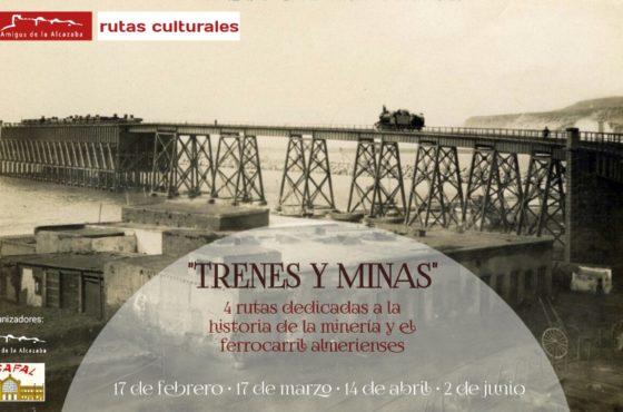 TRENES Y MINAS cartel