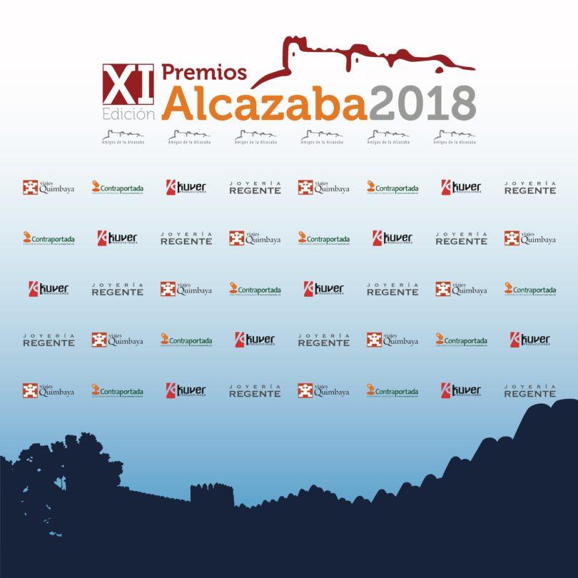 XI PREMIOS ALCAZABA Foto call 2018