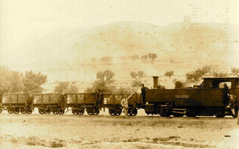 trenes y minas lucainena