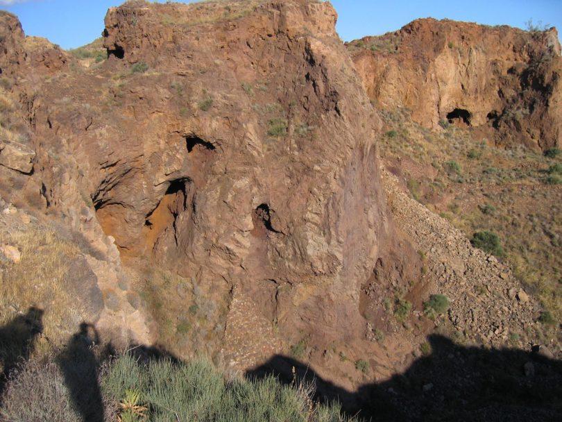 Vista de las explotaciones en el hoyo Júpiter. Foto de Juan Antonio Soler Jódar.