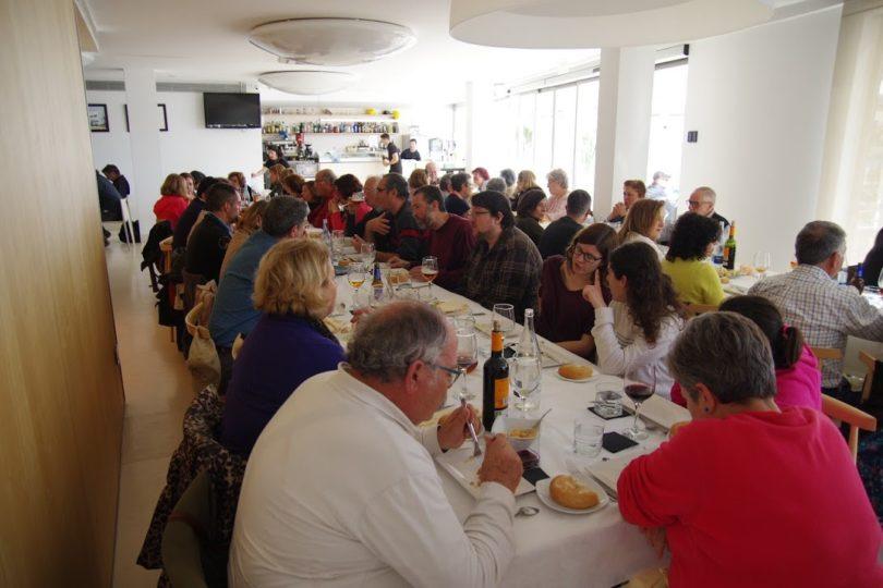 """@ José Ángel Fernández. En Restaurante """"Las Palmas"""""""