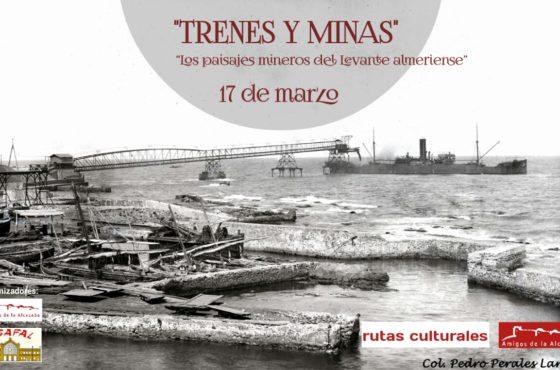 Cargadero de mineral del ferrocarril Herrerías-Villaricos. De la Colección de Pedro Perales Larios