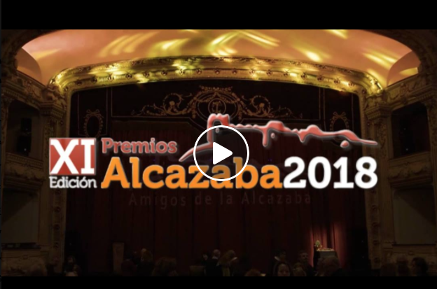 """XI Premios """"Alcazaba"""" de Amigos de la Alcazaba. Teatro Cervantes. 2014"""