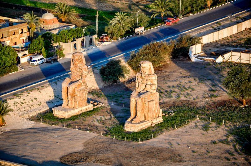 EGIPTO COLOSOS DE MEMNON