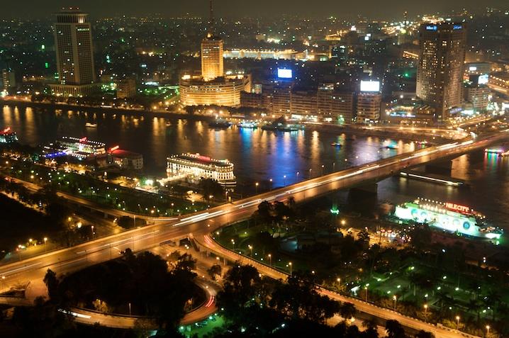 El Nilo desde nuestro hotel Ramsés Hilton