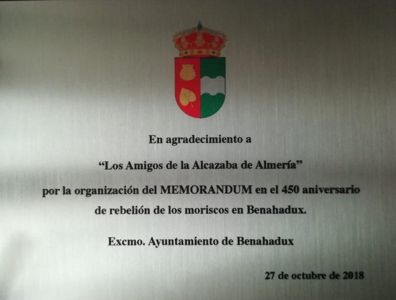 MORISCOS BENAHADUX