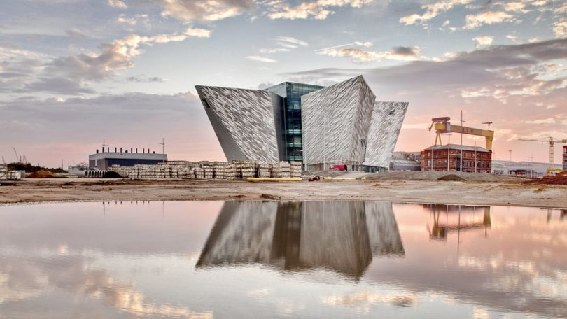 IRLANDA TItanic Belfast 2012